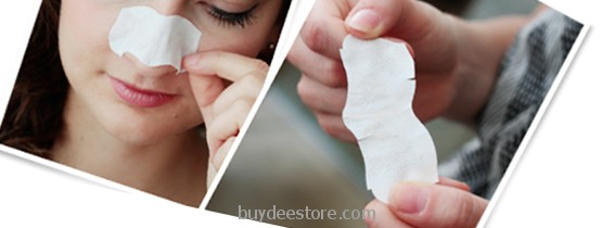 Cleansing pore strips